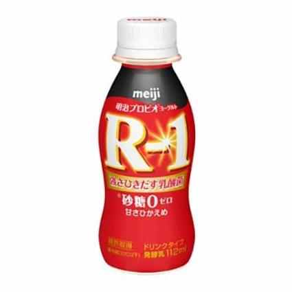 R-1ドリンクタイプ 砂糖0甘さひかえめ 明治