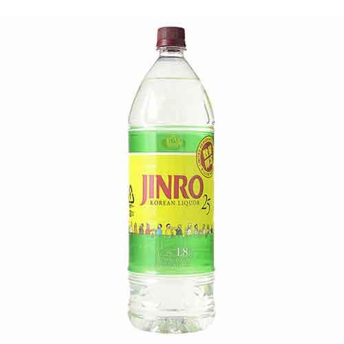 25度 JINRO 限定ボトル