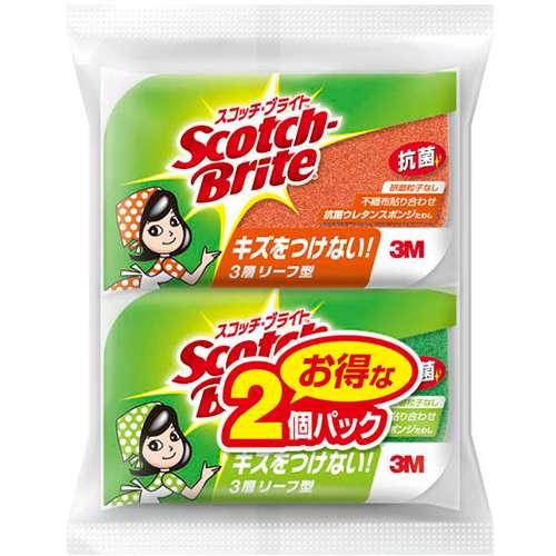スコッチブライト抗菌ウレタンリーフ 3M