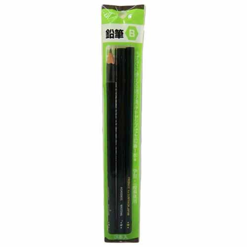 鉛筆B 3本パック サンフレイム