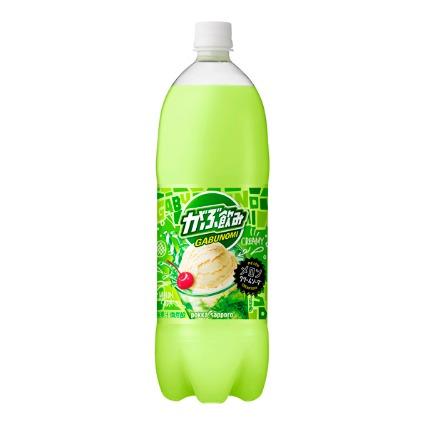 がぶ飲みメロンクリームソーダ ポッカサッポロ