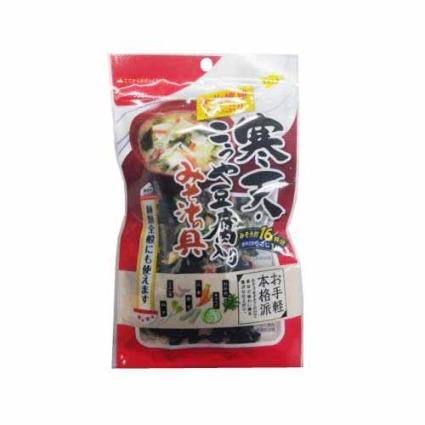 寒天・こうや豆腐入りみそ汁の具 三幸産業