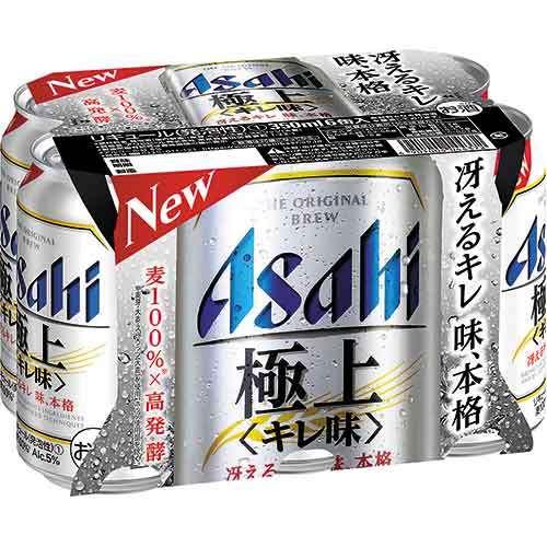 アサヒ 極上キレ味 6缶 アサヒビール