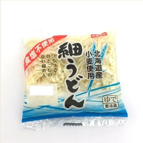 食塩不使用 ゆで細うどん 岩崎食品