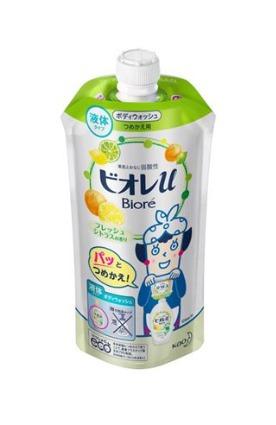 ビオレU フレッシュシトラスの香り 詰替 花王