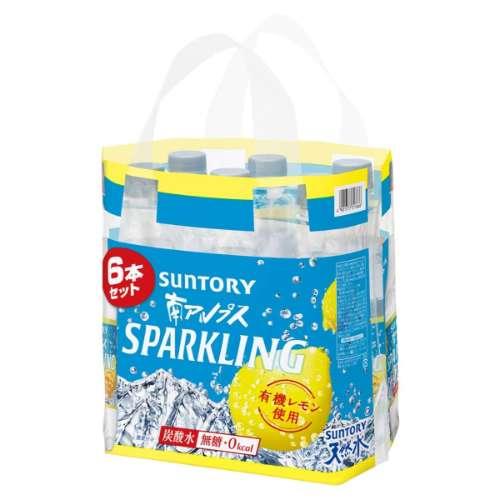 天然水スパークリング レモン 6P