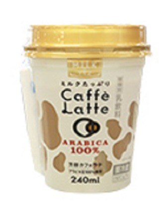 ミルクたっぷりカフェラテ トモエ乳業