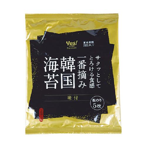 一番摘み 韓国海苔 ヤオコー