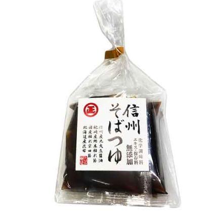 信州そばつゆ(希釈用)4袋入 丸正醸造